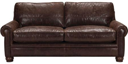 Acme Furniture Columbus 54045 Stationary Sofa Brown, 1