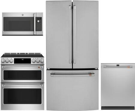 Cafe  1072552 Kitchen Appliance Package Stainless Steel, Main image