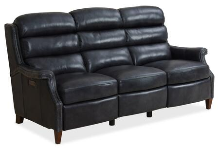Hooker Furniture MS Series SS469P3049 Motion Sofa Blue, Silo Image