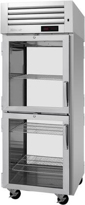 PRO-26-2H2-G-PT-L 29″ Pro Series Left Hinged Glass Half Door Pass-Thru Heated Cabinet with 26.2 cu. ft. Capacity  Digital Temperature Control &