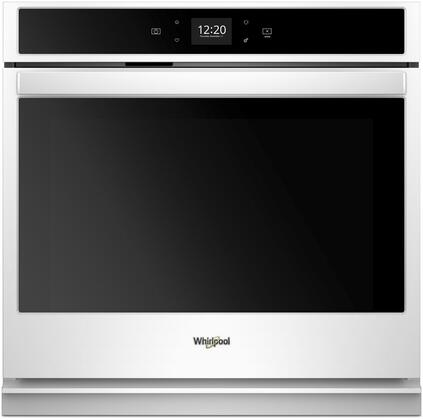 Whirlpool WOS51EC0HW Single Wall Oven White, Main Image
