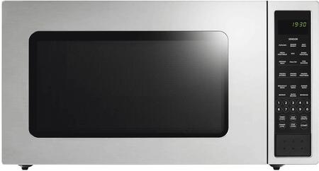 Fisher Paykel  MO24SS3Y Countertop Microwave Stainless Steel, Front view