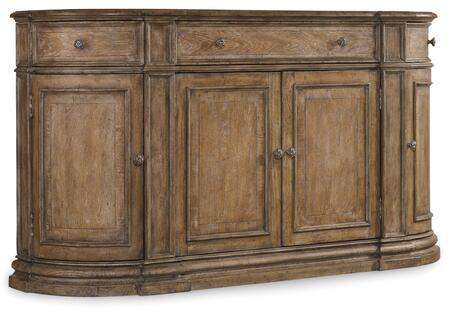 Hooker Furniture Solana 529175900 Dining Room Buffet Brown, Main Image