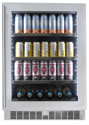 Danby Silhouette SPRBC056D1SS Beverage Center Stainless Steel, SPRBC056D1SS Saxony Beverage Center