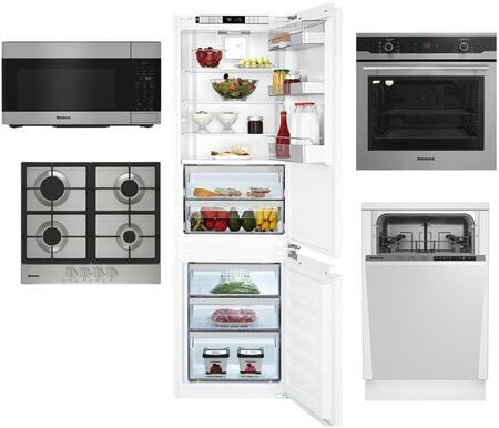 Blomberg 1115129 Kitchen Appliance Package & Bundle Stainless Steel, main image