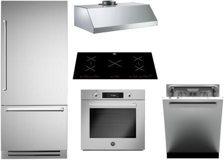 Bertazzoni 1128147 Kitchen Appliance Package & Bundle Stainless Steel, Main image