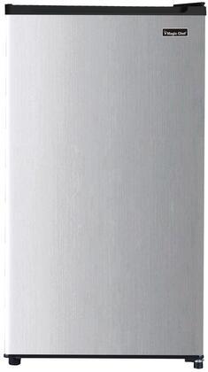 Magic Chef  MCAR320PSE Compact Refrigerator Silver, MCAR320PSE Compact Refrigerator