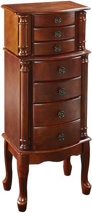 Powell Miscellaneous Jewelry Armoires 881315 Jewelry Armoire Red, Main Image