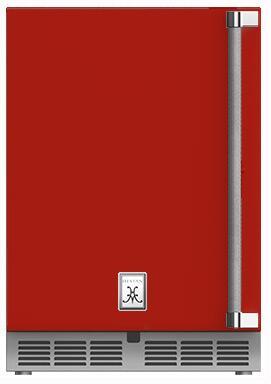 Hestan  GRSL24RD Compact Refrigerator Red, Main Image