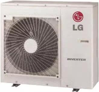 LG  LUU247HV Mini Split Outdoor Unit Bisque, Main Image