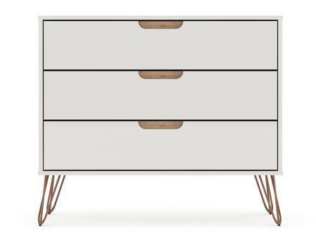 Manhattan Comfort Rockefeller 103GMC3 Dresser White, Main Image