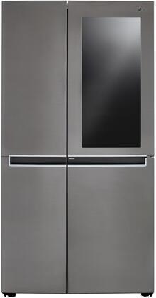 LG  LRSES2706V Side-By-Side Refrigerator Silver, LRSES2706V Side by Side Refrigerator
