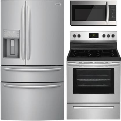 Frigidaire  1010222 Kitchen Appliance Package Stainless Steel, Main image