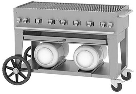 Crown Verity Club CVCCB4 Commercial Outdoor Grill Stainless Steel, 1