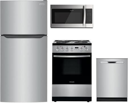 Frigidaire  1308052 Kitchen Appliance Package Stainless Steel, 9