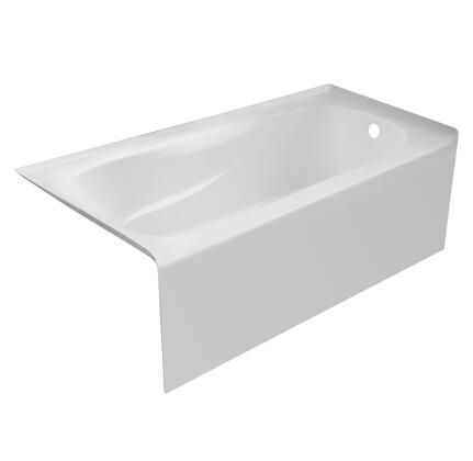 Valley Acrylic Signature Collection PPRO6030SKRWHT Bath Tub White, Main Image