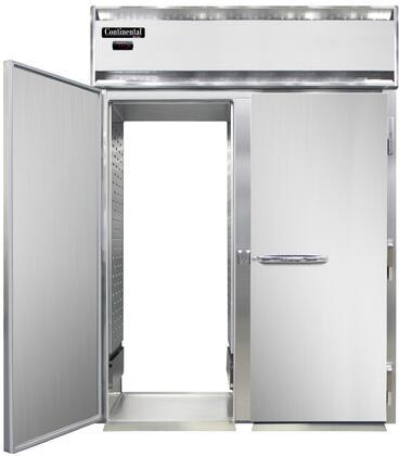 Continental Refrigerator Designer Line DL2WISART Commercial Food Warmer Stainless Steel, DL2WI-SA-RT Roll-Thru Warmer