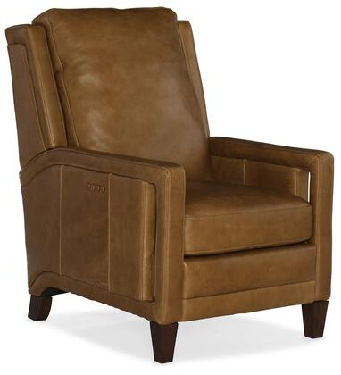 Hooker Furniture RC Series RC252PWR088 Recliner Chair Brown, Silo Image