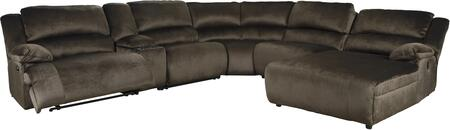 Signature Design by Ashley Clonmel 36504074677195740 Sectional Sofa Brown, 36504 40 57 19 77 46 07