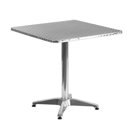 Flash Furniture TLH05 TLH0532GG Outdoor Patio Table Stainless Steel, TLH 053 2 GG