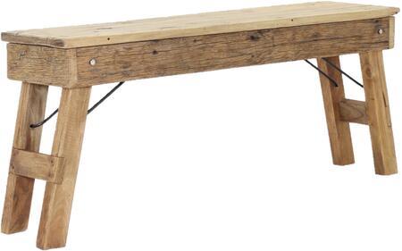Rustic Natural 4D Concepts Java Bench