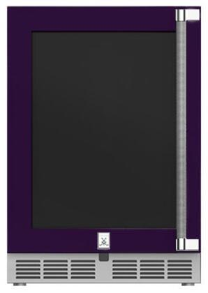 Hestan  GRGL24PP Compact Refrigerator Purple, Main Image