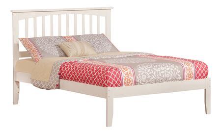 Atlantic Furniture Mission AR8731002 Bed White, AR8731002
