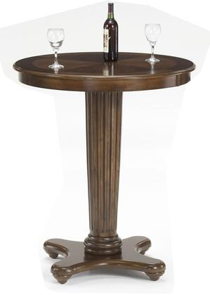Hillsdale Furniture Ambassador 6124PTB Bar Table Brown, Main Image