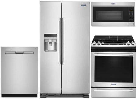 Maytag  1009974 Kitchen Appliance Package Stainless Steel, Main Image