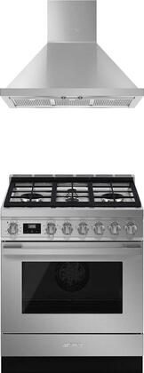 Smeg 916278 Kitchen Appliance Package & Bundle Stainless Steel, Main Image