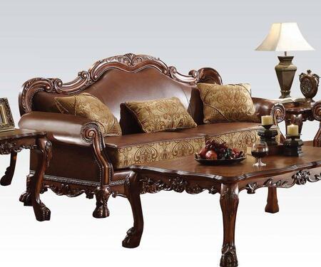 Acme Furniture Dresden 15160 Stationary Sofa Brown, Sofa