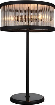 Acme Furniture Piper 40100 Table Lamp Black, 1