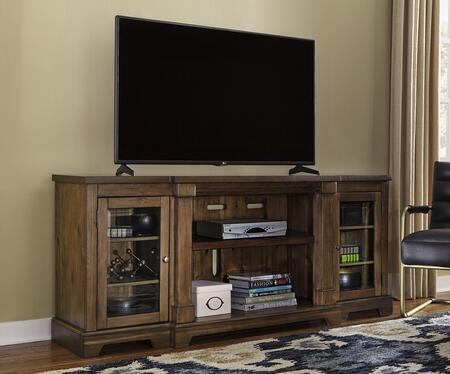 Signature Design by Ashley Flynnter W71968 52 in. and Up TV Stand Brown, Main Image