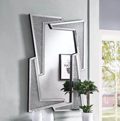 Acme Furniture Noralie 97571 Mirror Silver, Mirror
