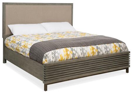 Hooker Furniture Annex 57609086680 Bed Beige, Silo Image