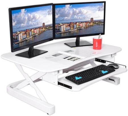 ApexDesk ZT Series EDR3612WHITE Desk White, EDR3612WHITE Main Image