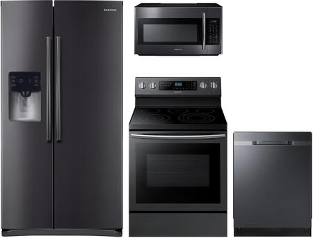 Samsung 1115363 Kitchen Appliance Package & Bundle Black Stainless Steel, main image
