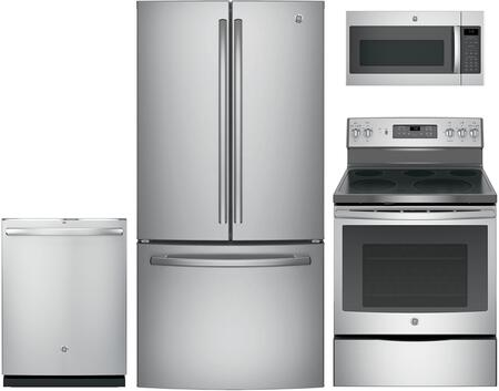 GE 853495 Kitchen Appliance Package & Bundle Stainless Steel, main image