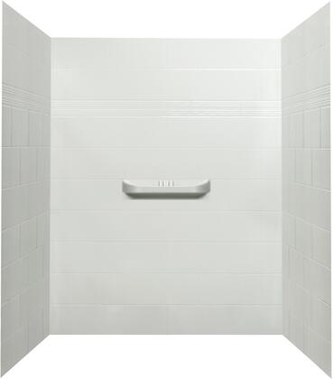 SW-60-SH-3 Alexa Acrylic Alcove Shower Wall  in