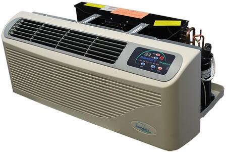 EZ420919B1S46AA EZ Series 42 PTAC Air Conditioner with 9500 BTU Cooling Capacity  2 kW Electric Heat  Dual Fan Motors and Washable Filters in
