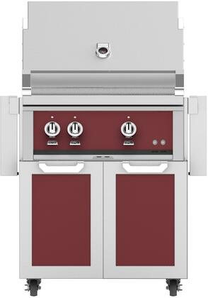 Hestan  852427 Natural Gas Grill Red, Main Image