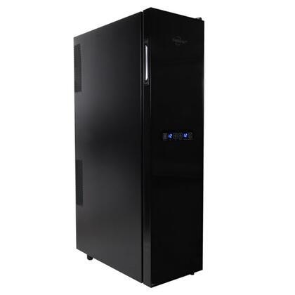 Koolatron  WC18 Wine Cooler 25 Bottles and Under Black, Main Image
