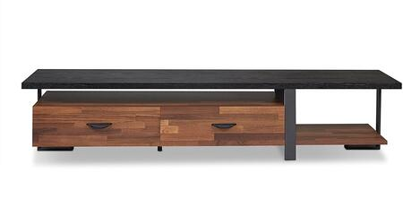 Acme Furniture Elling 91235 52 in. and Up TV Stand Brown, TV Stand