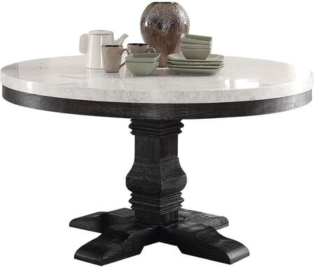 Acme Furniture Nolan 72845 Dining Room Table Brown, 1