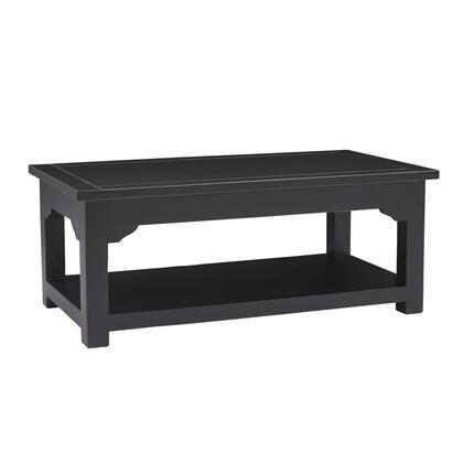 Progressive Furniture Teresa T86901 Coffee and Cocktail Table Black, MainImage