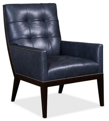 Hooker Furniture CC Series CC399048 Accent Chair Blue, Silo Image