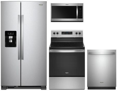 Whirlpool 1115568 Kitchen Appliance Package & Bundle Stainless Steel, main image