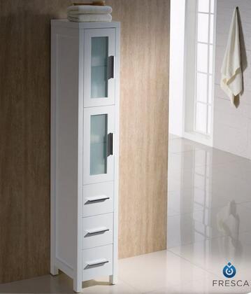 Fresca Torino FST6260WH Linen Tower White, White