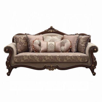 Acme Furniture Fabric Sofa 50690 Beige, Crown Furniture Omaha