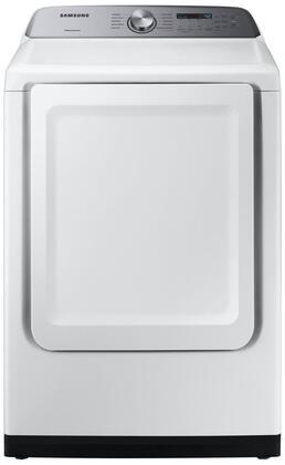 Samsung  DVG50R5200W Gas Dryer White, Main Image